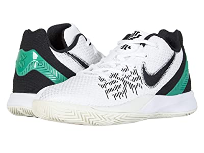 Nike Kids Kyrie Flytrap II (Big Kid) (White/Black/Lucid Green/Bright Crimson) Boys Shoes