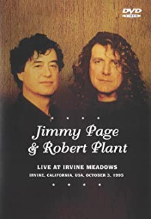 Jimmy Page & Robert Plant:  Live At Irvine Meadows