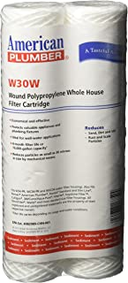 American Plumber W30W Whole House Sediment Filter Cartridge (2-Pack)