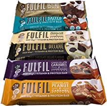 Fulfil Trial Pack 6 Protein bar 330g Kohlenhydratreduziert and in Fibre Low in Sugar Fast Estimated Price : £ 18,99