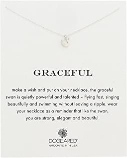 Dogeared - Graceful Swan Reminder Necklace
