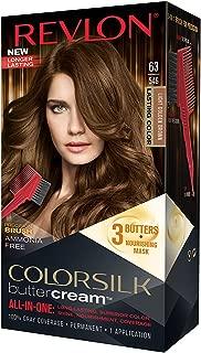 Revlon ColorSilk Buttercream Hair Dye, Light Golden Brown