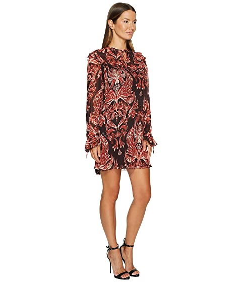 Printed Cavalli Dress Sleeve Long Baroque Just qFn8XxdEqw