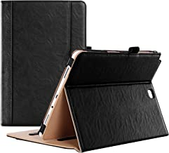 ProCase Galaxy Tab A 9.7 Case - Standing Cover Folio Case for 2015 Galaxy Tab A Tablet (9.7 inch, SM-T550 P550), with Multiple Viewing Angles, auto Sleep/Wake, Document Card Pocket (Black)