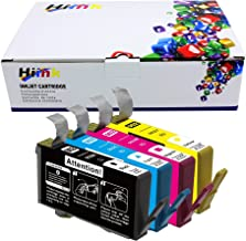 HIINK Remanufactured Ink Cartridge Replacement for HP 902XL 902 Ink Cartridges Use with HP OfficeJet Pro 6978 6962 6968 6975 6960 6970 6950 6954 6979 6951 (1B, 1C, 1M, 1Y. 4-Pack)