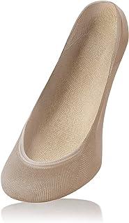 Calcetines Invisibles Cortos Mujer Sin Costura Algodón Multipack 6 o 12 Pares Elástico Antideslizante