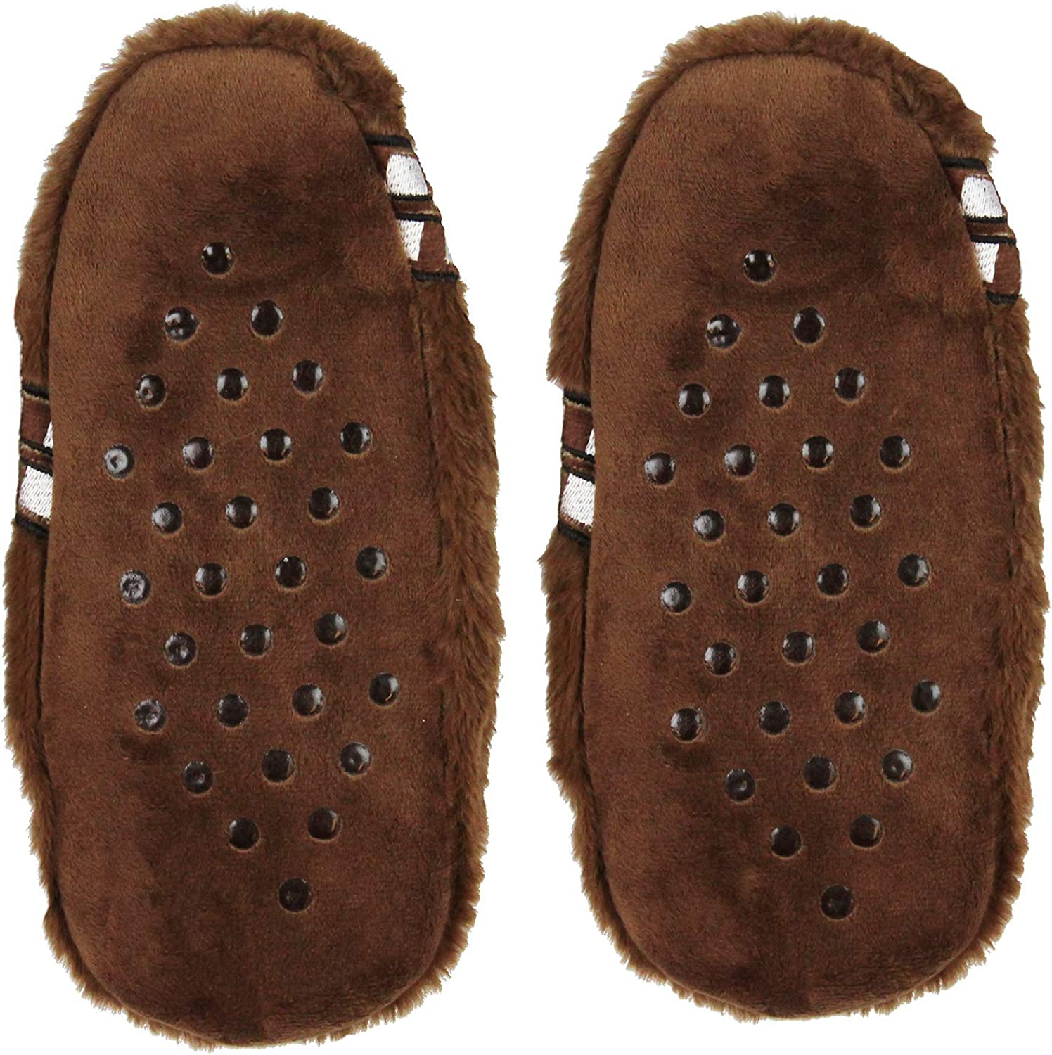 Star Wars Chewbacca Chewie Slippers Character Slipper Socks with No-Slip Sole For Women Men