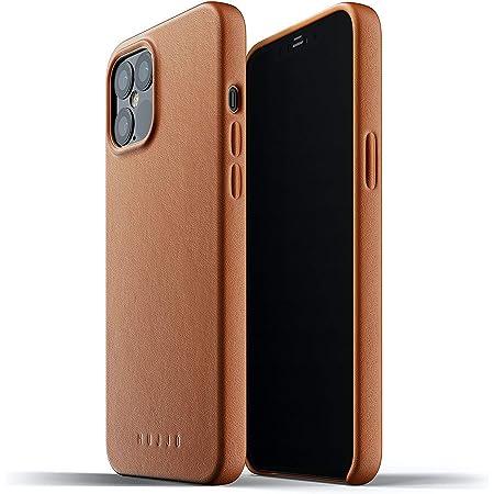Funda de Piel Lisa Para Iphone 12 Pro Max Marrón Clarito Mujjo