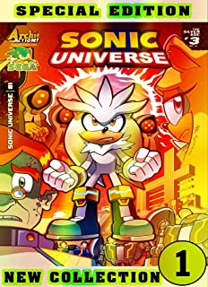 Universe Sonic Collection: Book 1 2021 Edition Cartoon Comic Adventure Of Great Sonic For Boys, Children