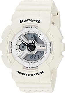 Casio 2018 BA110PP-7A Watch Baby-G Punching Resin Band White