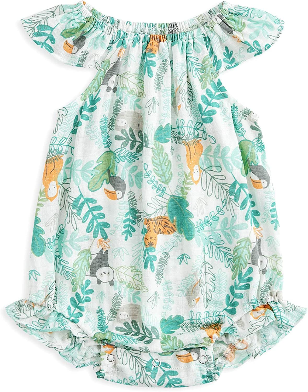 Baby Popular product Girls Summer Max 41% OFF Romper Cotton Ru Floral Infant Newborn Onesies