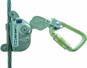 3M DBI-SALA 6160030 Lad-Saf Sleeve with Carabiner, Cam and Inertial Locking Fits 3/8