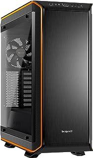 be quiet! Dark Base PRO 900 Orange Rev. 2, Full Tower ATX, 3 Pre-Installed Silent Wings 3 Fans, BGW14, Tempered Glass Window, RGB LED Illumination