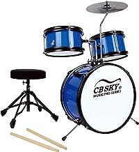 Batería junior de 5 piezas CB Sky, Instrumento de percusión para niños / Juguetes musicales para niños / Instrumento musical para niños