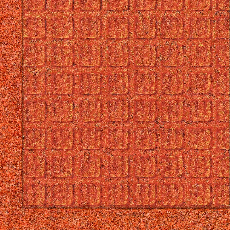 Andersen 280 Waterhog Fashion Polypropylene Fiber Entrance Indoor Outdoor Floor Mat, SBR Rubber Backing, 12-Feet Length X 3-Feet Width, 3 8-Inch Thick, orange
