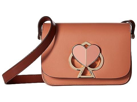 2a3dbbf80d83e5 Kate Spade New York Nicola Twistlock Small Flap Shoulder at Luxury ...