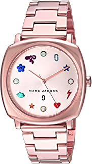 Marc Jacobs Women's 'Mandy' Quartz Stainless Steel Casual Watch, Color:Rose Gold-Toned (Model: MJ3550)