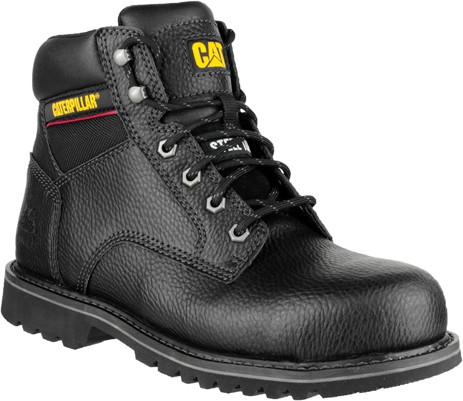 Caterpillar Electric Mens 6 Black Safety Boots (7 UK) (Black)