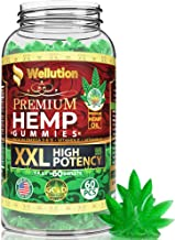 Hemp Gummies XXL 1,500,000 High Potency Premium - Fruity Gummy with Organic Hemp Oil | Natural Hemp Candy Supplements for ...