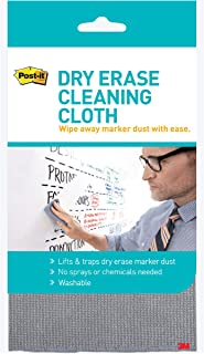 3M Post-It Dry Erase Cleaning Cloth, Grey, White (MMMDEFCLOTH)