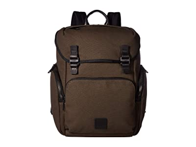 KNOMO London Fulham Thurloe Backpack (Forest Green) Backpack Bags