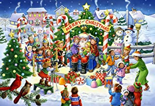 Vermont Christmas Company Smile for Santa Kid's Jigsaw Puzzle 100 Piece