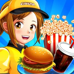 60 amazing levels Serving many rare and funny customers Many snacks to sell: hot dogs, pop corn, hamburgers and more. Earn money and gems to improve the machines and also buy new ones.