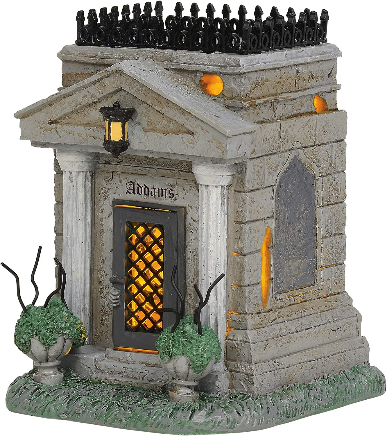 Department 56 The Addams Family Village Accessories Crypt Lit Fi
