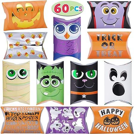 Amosfun Candy Felt Holder Bucket with Handle Christmas Treat Bag Christmas Snacks Goodie Bag Xmas Party Favors Supplies for Kids