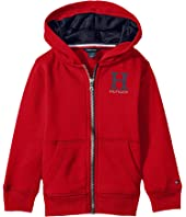 Tommy Hilfiger Kids - Matt Logo Hilfiger Hoodie (Toddler/Little Kids)
