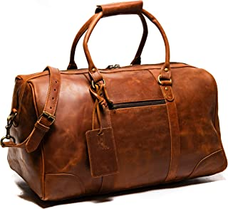 Best leather overnight bags Reviews