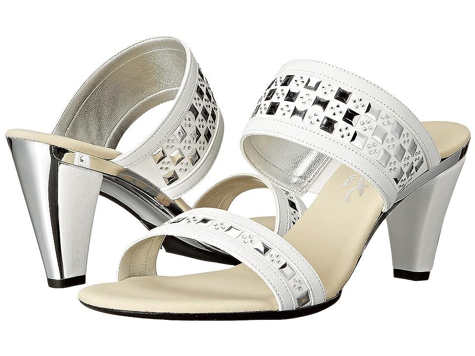 Onex Chess (White) High Heels