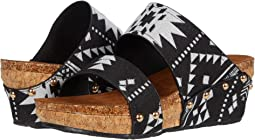 Black/White/Navajo Print