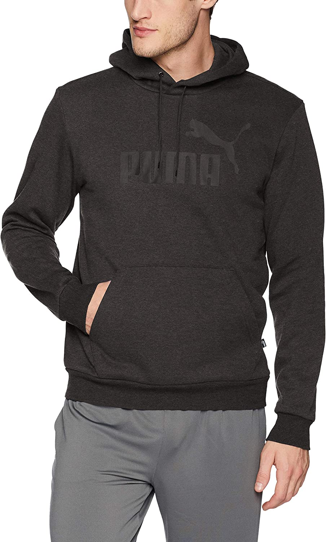 PUMA Men's Essential Hoodie Logo Sweatshirt Fleece Big Max 81% OFF Max 40% OFF