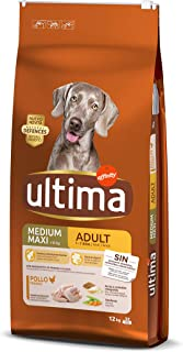 comprar comparacion Ultima Comida para Perros Medium Maxi Adultos con Pollo, 12 kg