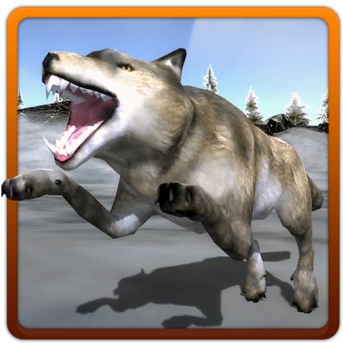 Simulador de ataque de lobo enfadado