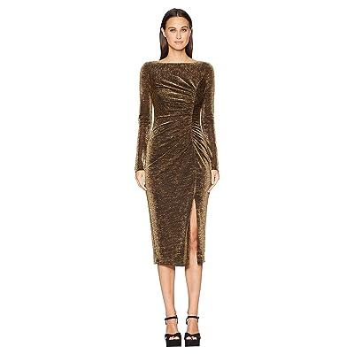 Rachel Zoe Lovey Dress (Black/Gold) Women