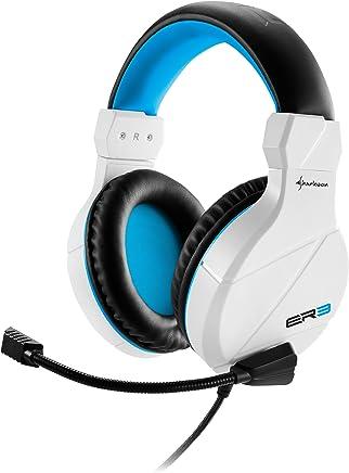 Sharkoon RUSH ER3 cuffie gaming con microfono, grandi e confortevoli, controllo del volume, bianche - Confronta prezzi