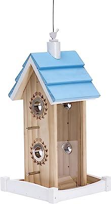 Perky-Pet 50182 Birdie B&B Wood Chalet Bird Feeder