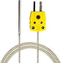 high temperature surface thermocouple