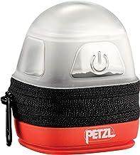 Petzl Noctilight Hoofdlamp voor volwassenen, één maat, zwart/oranje