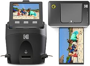 Kodak Scanza Film Scanner & Dock Printer Bundle - Scan, Save and Print Negatives & Slides to 4x6 Prints - Set Includes Kod...