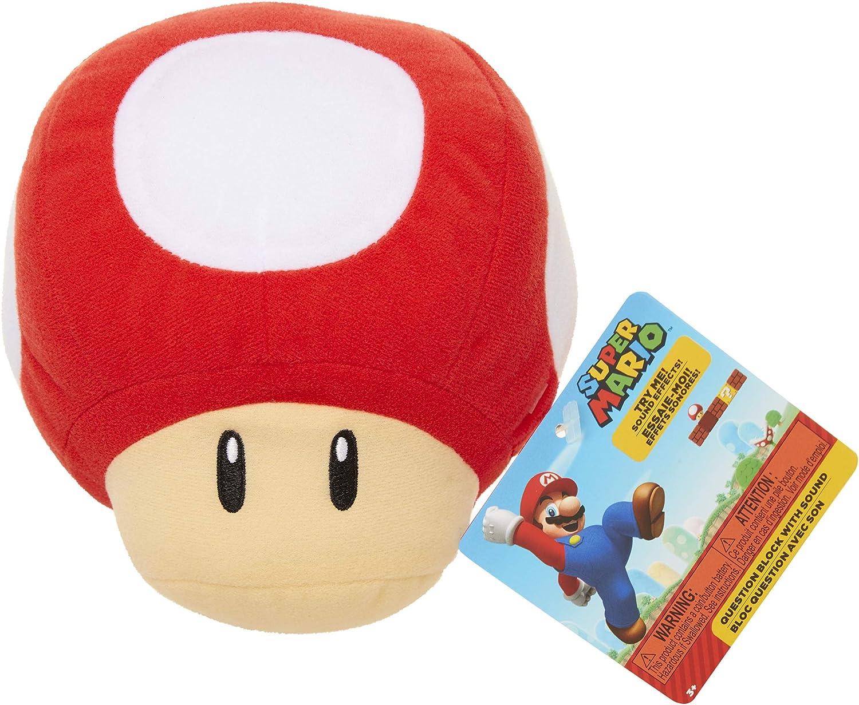 Max 68% OFF Nintendo SFX Plush Product - Up Red Mushroom Power