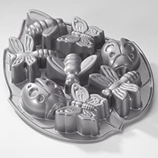 Nordic Ware Backyard Bugs Cake Pan, Commercial