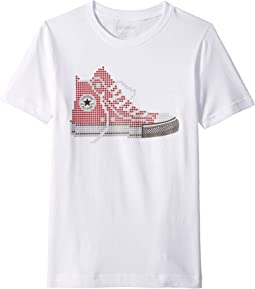 Converse Kids Pixel Chuck Tee (Big Kids)