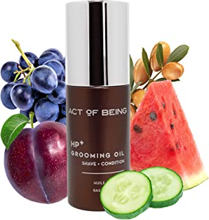 Act of Being HP+ Beard Oil - Beard Oil Conditioner with Argan & Jojoba Oils - Softens, Smooths, & Strengthens Beards and M...