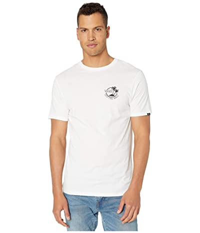 Vans Mini Dual Palm III T-Shirt (White/Frost Grey/Black) Men