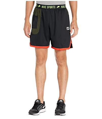 Nike Dry Shorts (Black/Sequoia/Electric Green) Men