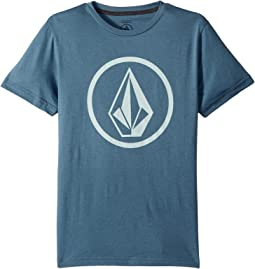 Volcom Kids Circle Stone Short Sleeve Tee (Big Kids)
