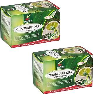 Stone Breaker Chanca Piedra Herbal Tea - 100% Naural from Peru (2x 25 Tea Bags Pack) Natural Kidney Cleanse & Gallbladder ...